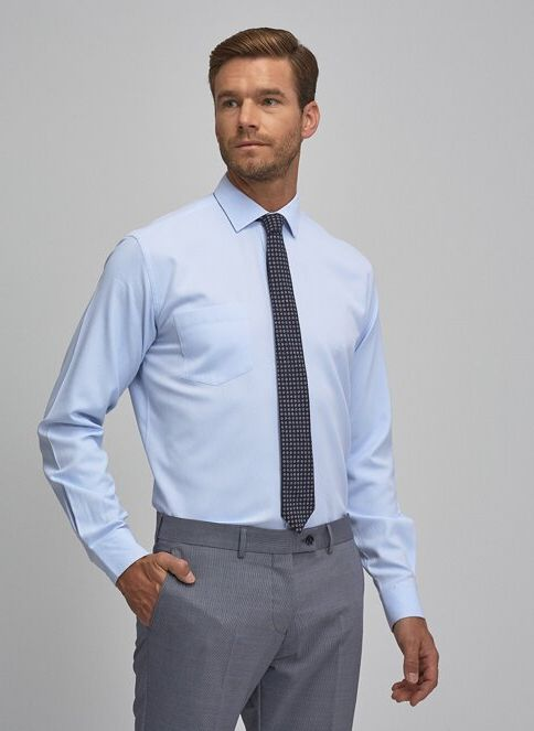 Altınyıldız Classics Erkek Gömlek Acik Mavi