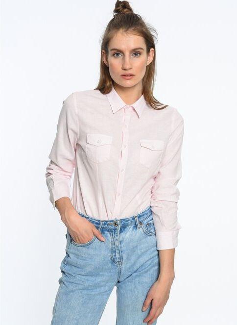 Lee Cooper Kadın Gömlek Pembe İndirimli Fiyat