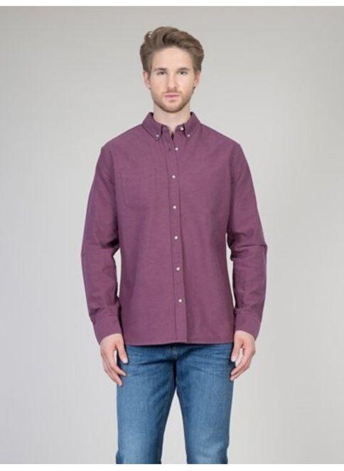 Colin's Erkek Uzun Kollu Gömlek Bordeaux