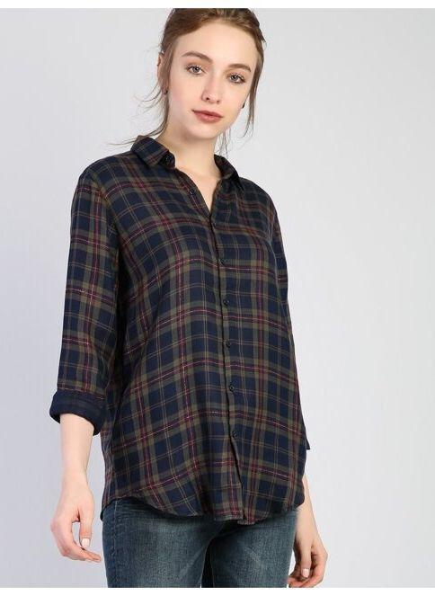 Colin's Kadın Gömlek Lacivert İndirimli Fiyat