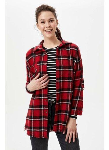 Kadın Kareli \u0026 Ekose Gömlek Modelleri Online Satış