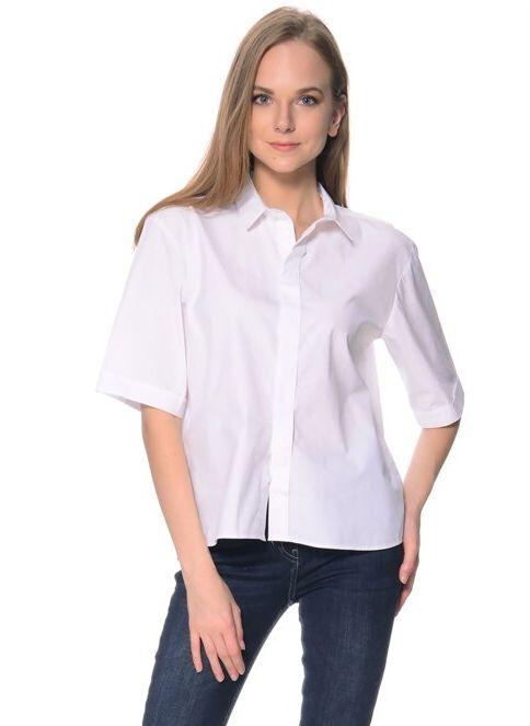 Fabrika Kısa Kollu Gömlek BEYAZ İndirimli Fiyat