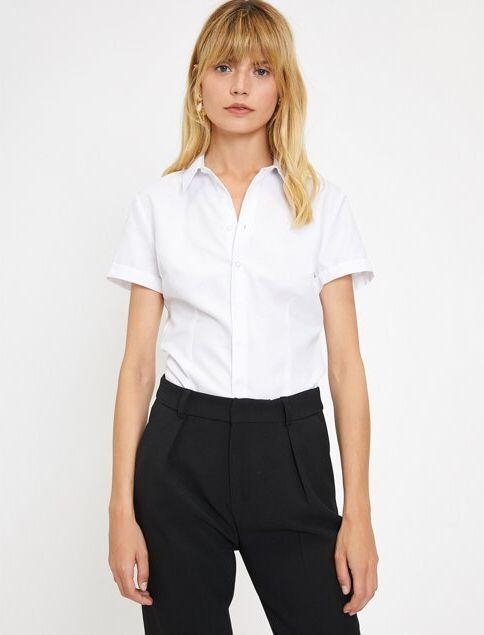 Koton Kadın Gömlek Beyaz/000