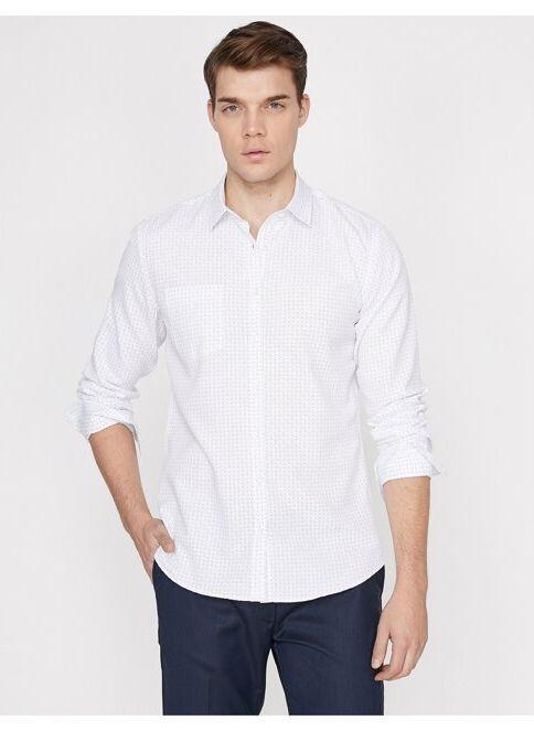 Koton Erkek Gömlek Beyaz