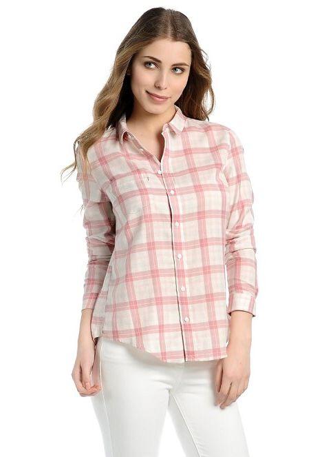 Levi's® Kadın Kareli Gömlek Mauveglow Plaid