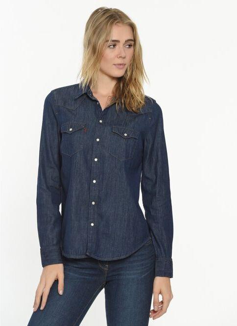 Levi's® Kadın Jean Gömlek Blues