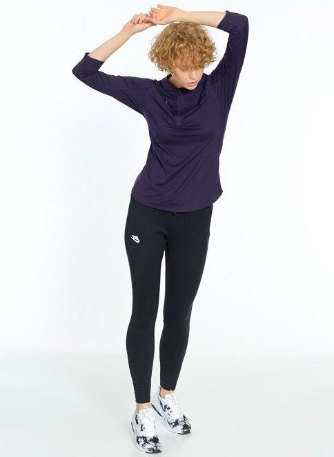Nike Kadın W Nkct Dry Pure Top Hz Purple Dynasty/Bright Mango ...