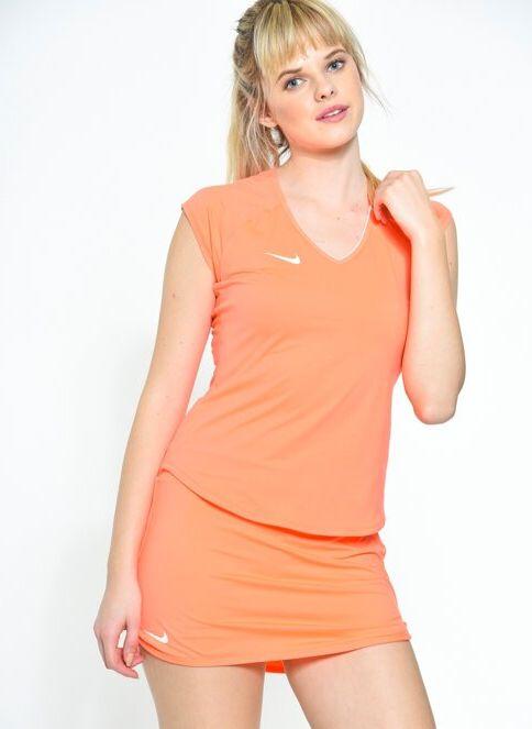 Nike Kadın Tişört Bright Mango/White