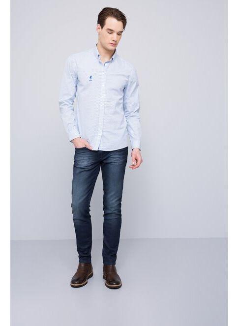 U.S. Polo Assn. Erkek Gömlek Beyaz