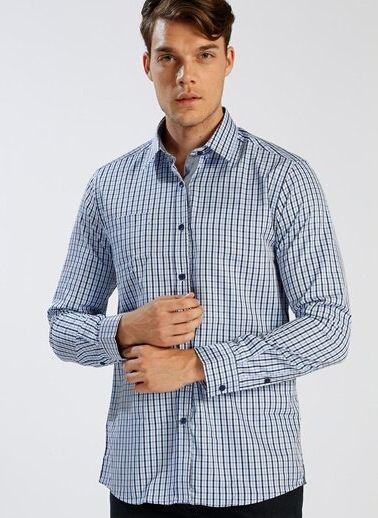 Erkek Uzun Kollu Gömlek Modelleri Online Satış