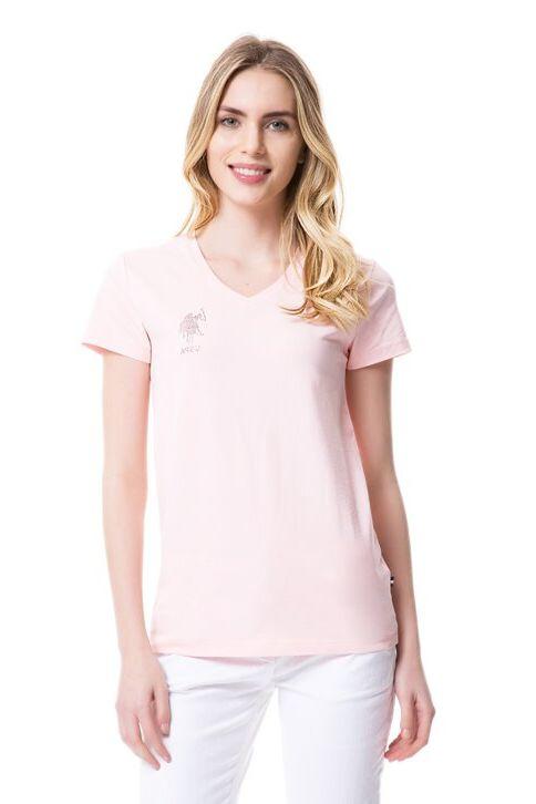 U.S. Polo Assn. Kadın Tişört Pembe